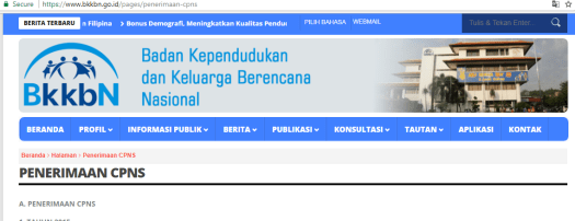 Jadwal dan syarat pendaftaran CPNS BKKBN 2021