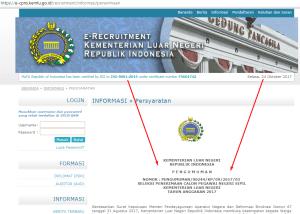 Jadwal dan Lokasi Tes SKD CPNS KEMENLU 2018 Setelah Seleksi Administrasi
