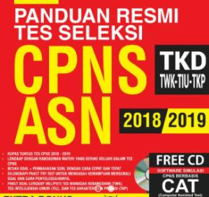 Tes CPNS Seleksi Kompetensi Dasar (SKD) Dengan Computer Assisted Test (CAT) BKN