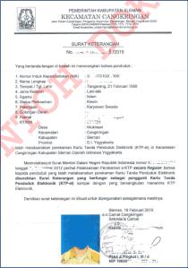 Hasil Seleksi Administrasi CPNS 2018 Provinsi Bali