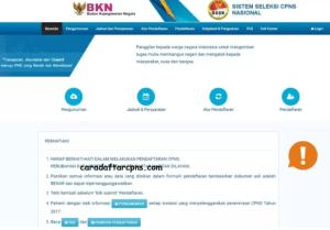 Panduan Cara Mendaftar CPNS Registrasi Akun di SSCN.BKN.GO.ID