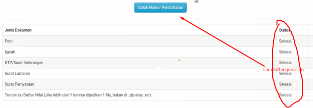 Cara Mudah Upload Dokumen Persyaratan CPNS