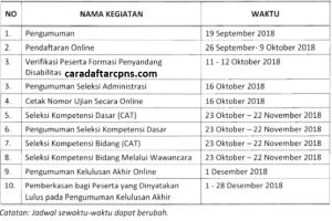 Pengumuman Hasil Tes SKD CPNS Kabupaten Nias Utara 2018
