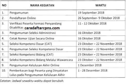 Pengumuman Hasil Seleksi CPNS BPS 2018
