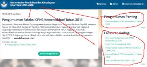 Hasil Akhir Seleksi CPNS Kemendikbud 2018