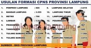 Hasil Tes SKB CPNS Pemprov Lampung 2018 Lulus Wawancara Psikotes