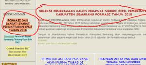 Hasil Tes SKB CPNS Kabupaten Semarang 2018 Lulus Wawancara Psikotes