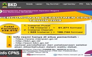 Hasil Akhir Seleksi CPNS Kota Semarang 2018