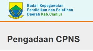 Pengumuman Hasil Tes SKD CPNS Kabupaten Cianjur 2018