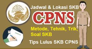 Pengumuman Jadwal dan Lokasi Tes SKB CPNS 2018