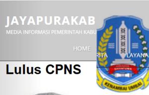 Pengumuman Hasil Tes SKD CPNS 2018 Kabupaten Jayapura