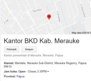 Pengumuman Hasil Tes SKD CPNS 2018 Kabupaten Merauke
