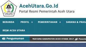 Pengumuman Hasil Tes SKD CPNS Kabupaten Aceh Utara 2018