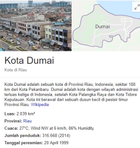 Pengumuman Hasil Tes SKD CPNS Kabupaten Dumai 2018