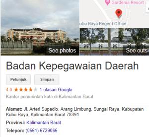 Pengumuman Hasil Tes SKD CPNS Kabupaten Kubu Raya 2018