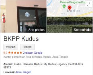 Pengumuman Hasil Tes SKD CPNS Kabupaten Kudus 2018