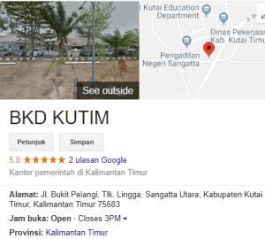 Pengumuman Hasil Tes SKD CPNS Kabupaten Kutai Timur 2018