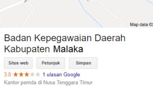 Pengumuman Hasil Tes SKD CPNS Kabupaten Malaka 2018