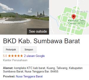 Pengumuman Hasil Tes SKD CPNS Kabupaten Sumbawa Barat 2018