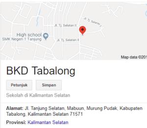Pengumuman Hasil Tes SKD CPNS Kabupaten Tabalong 2018