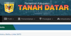 Pengumuman Hasil Tes SKD CPNS Kabupaten Tanah Datar 2018