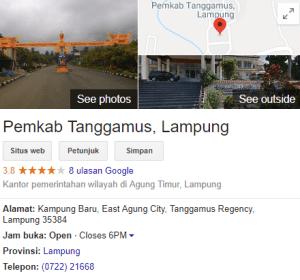 Pengumuman Hasil Tes SKD CPNS Kabupaten Tanggamus 2018