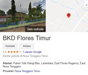Pengumuman Hasil Tes SKD CPNS Kabupaten Flores Timur 2018