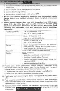 Hasil Tes SKB CPNS Kota Semarang 2018 Lulus Wawancara Psikotes