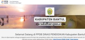 PPDB SMP Kabupaten Bantul