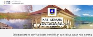 Jadwal Pendaftaran PPDB SMA SMK Negeri Kab Serang 2020 2021