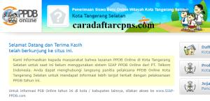 Jadwal Pendaftaran PPDB SMA Kota Tangsel 2020 2021