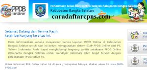PPDB SMP Kabupaten Bangka Selatan
