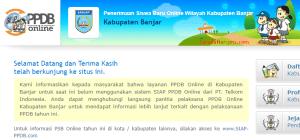 Jadwal PPDB SMA SMK Negeri Kab Banjar 2020 2021
