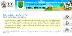 PPDB SMP Kabupaten Barito Selatan
