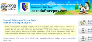 Jadwal PPDB SMA SMK Negeri Kab Batubara 2020 2021