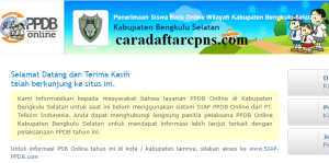 PPDB SMP Kabupaten Bengkulu Selatan