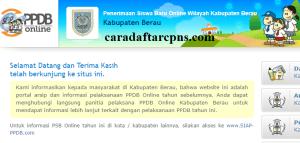 PPDB SMP Kabupaten Berau