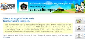 PPDB SMP Kabupaten Blitar