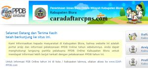 PPDB SMP Kabupaten Blora