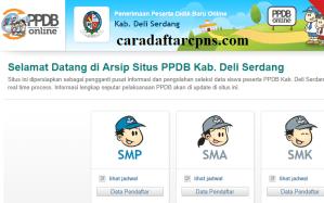 PPDB SMP Kabupaten Deli Serdang