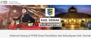 PPDB SMP Kabupaten Demak
