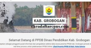 Pengumuman Hasil PPDB SMA SMK Negeri Kabupaten Grobogan 2020 2021