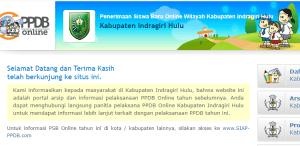 Jadwal PPDB SMA SMK Negeri Kab Indragiri Hulu 2020 2021