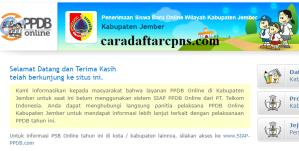 Jadwal PPDB SMA SMK Negeri Kab Jember 2020 2021