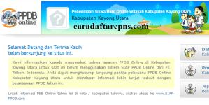Jadwal PPDB SMA SMK Negeri Kab Kayong Utara 2020 2021