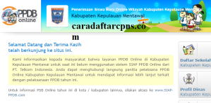 PPDB SMP Kabupaten Mentawai