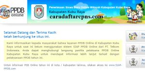 Jadwal PPDB SMA SMK Negeri Kab Kubu Raya 2020 2021