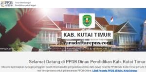 Jadwal Pendaftaran PPDB SMP Kab Kutai Timur 2020 2021