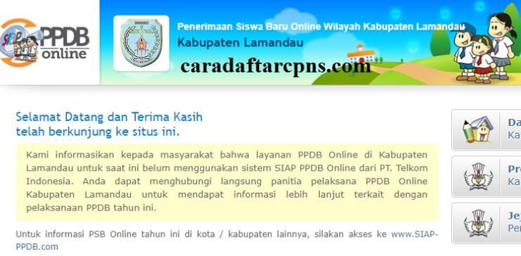 Ppdb Smp Kabupaten Lamandau Syarat Jadwal Pendaftaran Online