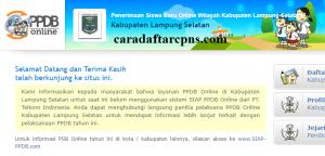 Jadwal PPDB SMA SMK Negeri Kab Lampung Selatan 2020 2021